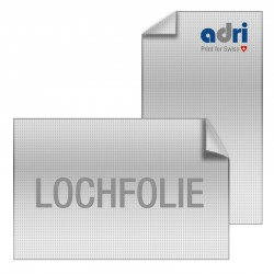 Window Graphics Lochfolie